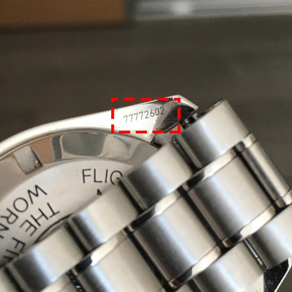 Serial Number Omega Watch